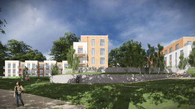 Cane Hill South London Barratt Developments Plc